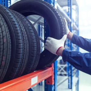 entreposage pneu